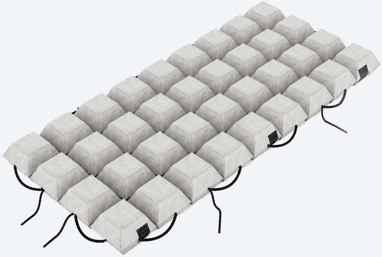 Гибкая бетонная плита ПБЗГУ-105