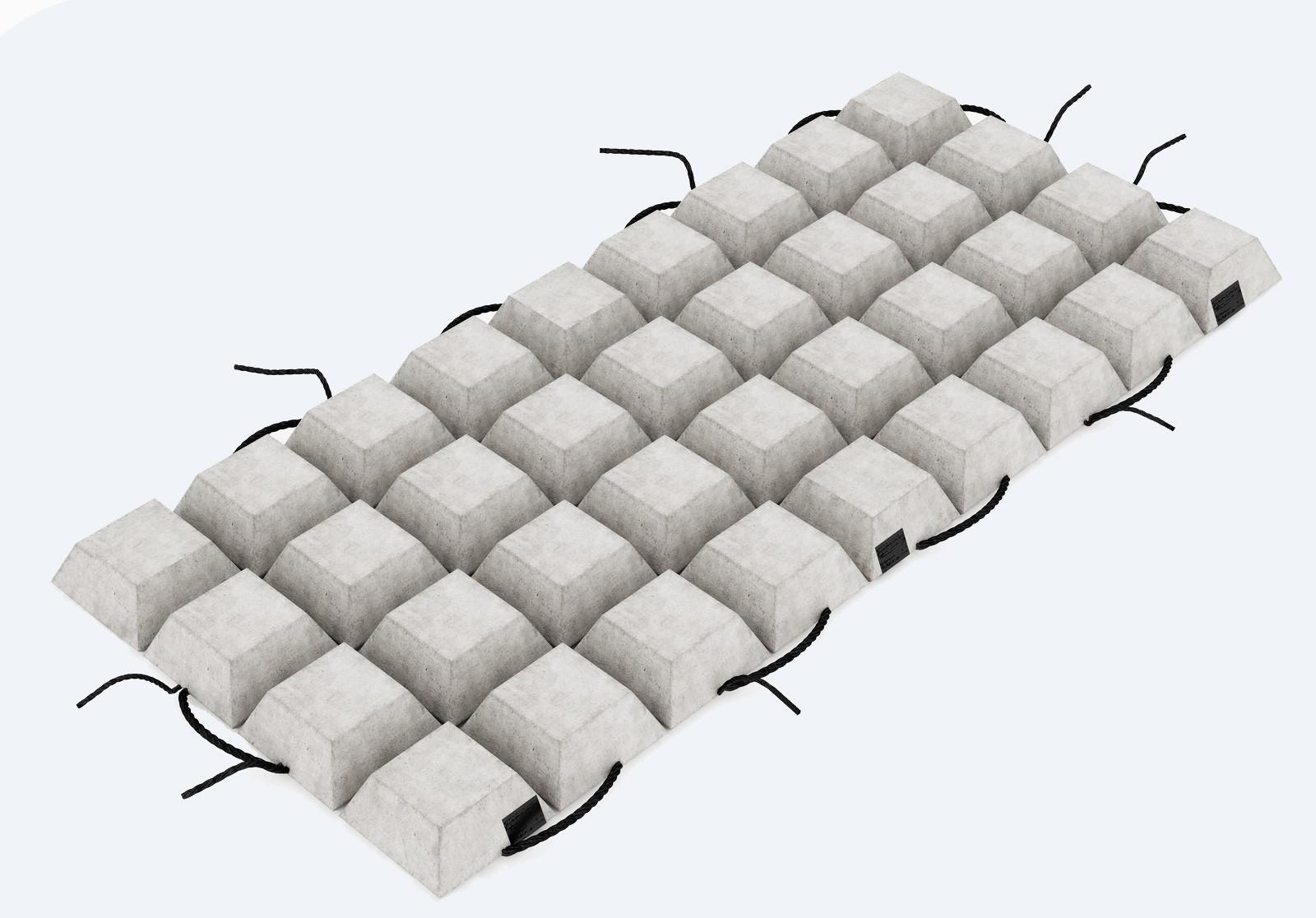 Гибкая бетонная плита ПБЗГУ-405
